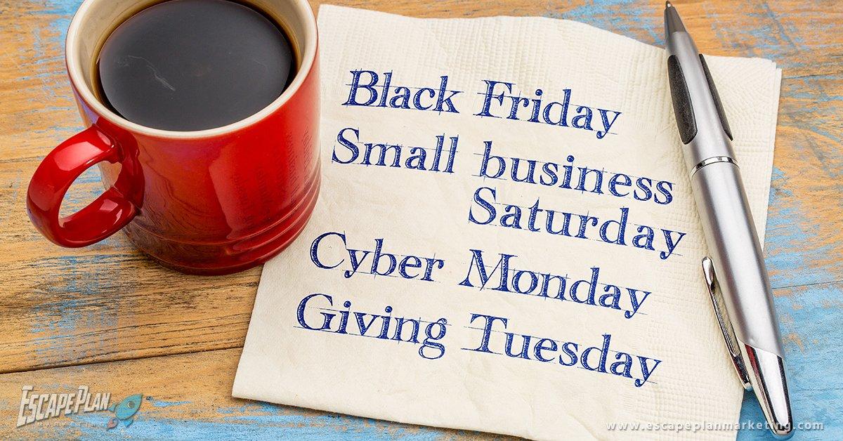 Black Friday vs. Small Business Saturday